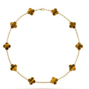 LOOKING FOR VCA Vintage Alhambra necklace 10 motif